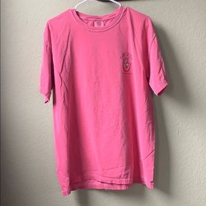 Pink/Red Comfort Colors T-Shirt